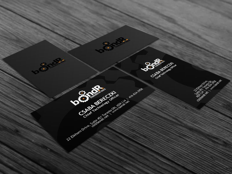 KissBotond.info BusinessCards Portfolio